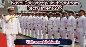 Naval Dockyard Visakhapatnam Recruitment 2019, 275 Apprentice Vacancies | Late date to apply online : 05.12.2019 | Apply online @ official website