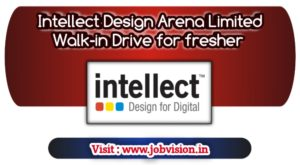 Intellect Design Arena Limited Walk-in Drive for fresher Developer for BE/MCA candidates of 2018 and 2019 batch.