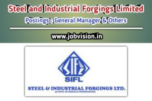 Steel and Industrial Forgings Limited