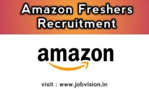 Amazon Freshers Recruitment As Device Associate For B.E/B.Tech/MCA/M.Sc @ Chennai