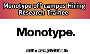 Monotype Off Campus Freshers