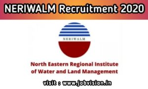 NERIWALM Recruitment 2020 for Accountant