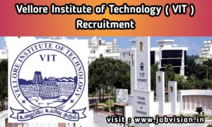 VIT University Recruitment