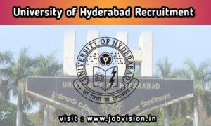 Hyderabad University Recruitment