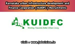 KUIDFC Recruitment 2020