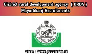 DRDA Odisha Recruitment