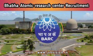 BARC Recruitment