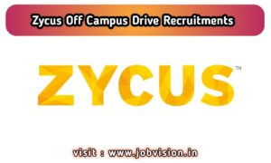 Zycus Off Campus Drive