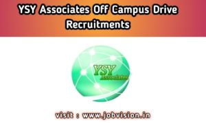 YSY Associates Off Campus Drive