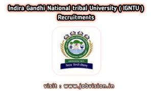 Indira Gandhi National Tribal University [ IGNTU ]