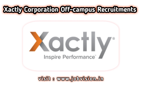Xactly Off Campus Drive 2021