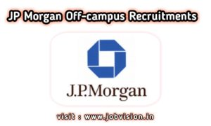 JP Morgan Recruitment