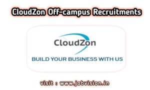 CloudZon Off Campus Drive