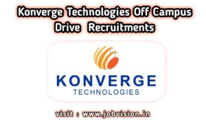 Konverge Technologies Off Campus Drive
