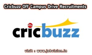 Cricbuzz Off Campus Drive