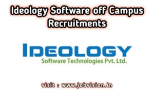 Ideology Software Off Campus Drive