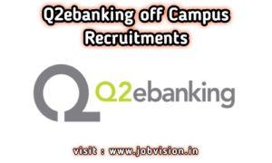Q2ebanking Off Campus Drive