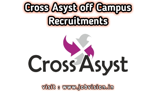 CrossAsyst Technologies Off Campus Drive 2021