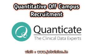 Quanticate Off Campus Drive