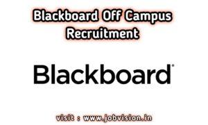 BlackBoard Off Campus Drive