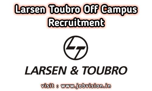 Larsen Toubro Recruitment 2020