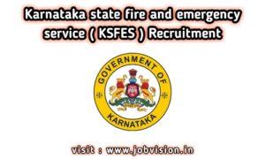 KSFES Recruitment