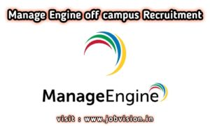 ManageEngine Off Campus Drive