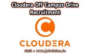 Cloudera Off Campus Drive