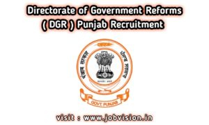 DGR Punjab Recruitment