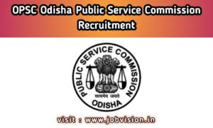 OPSC - Odisha Public Service Commission