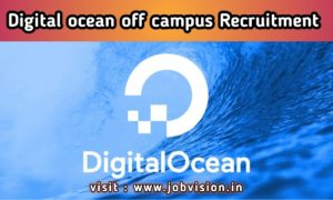 DigitalOcean Off Campus Freshers Recruitment