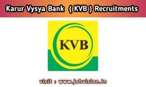 Karur Vaishya Bank - KVB