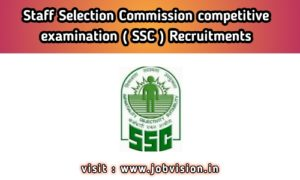 Staff Selection Commission - ssc
