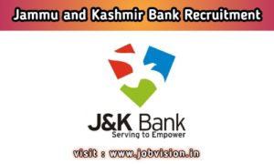 JK Bank Recruitment