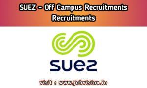 SUEZ India Off campus
