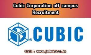 Cubic Corporation Recruitment