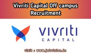 Vivriti Capital Off Campus Drive