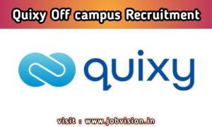 Quixy Off Campus Drive