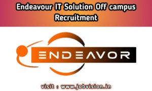 Endeavor IT Solution Off Campus Drive