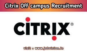 Citrix Recruitment