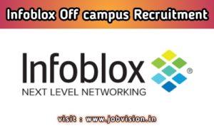 Infoblox Recruitment 2020