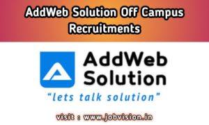 AddWeb Solution Off Campus Drive