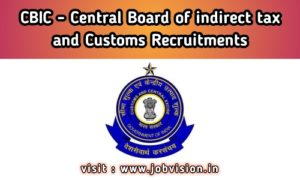 CBIC - Central Board of Indirect Taxes and Customs