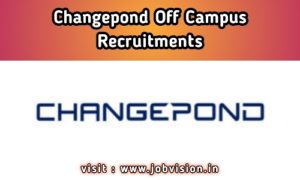 Changepond Technologies Recruitment
