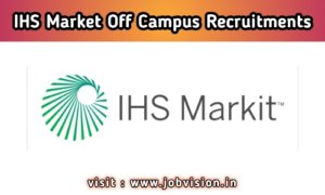 IHS Markit Off Campus Hiring