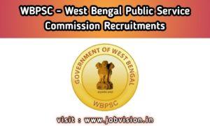 WBPSC - West Bengal Public Service Commission