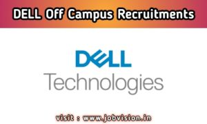 Dell Hiring Freshers As Software Engineer