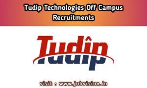 Tudip Technologies Off Campus