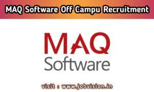 MAQ Software Off Campus