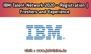 IBM Talent Network 2020